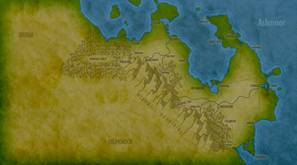 Ashmoor Map